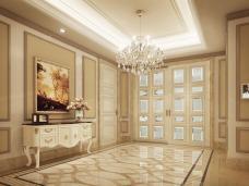 美式风格-282平米五居室装修图片