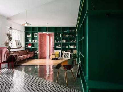 现代简约三居室客厅电视柜装修效果图大全