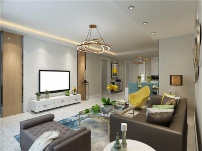 现代简约-139平米三居室装修设计