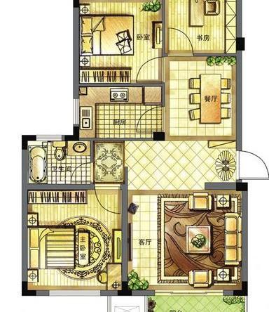 一套75个平方的小户型二居室案例,整体为混搭风格,把各种屋主喜欢的元素给完美的搭配起来,来打造一个实用、颜值也高的小窝,这套房子就完美的做到了这一点。