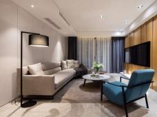 现代简约-142平米三居室装修图片