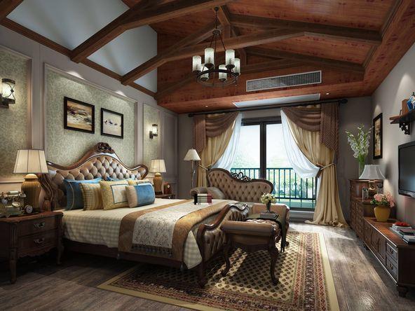 苏州中信森林湖现代五居室装修效果图_350平米150万-.