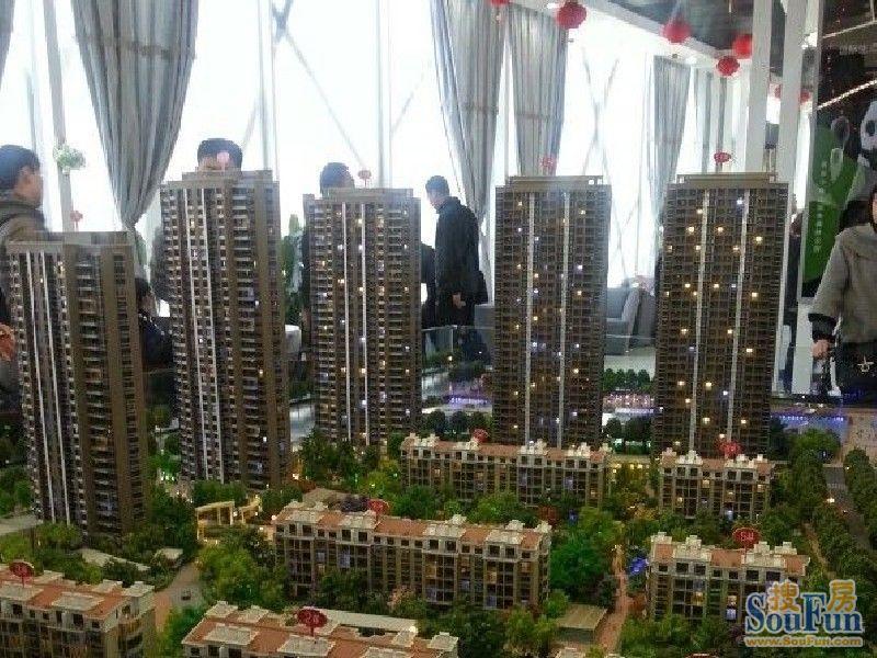 盛华未来城沙盘图实景图(20130519)