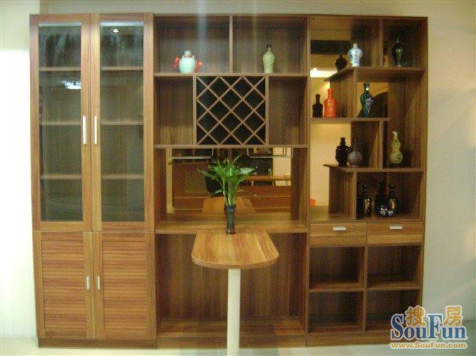 现代酒柜设计图纸