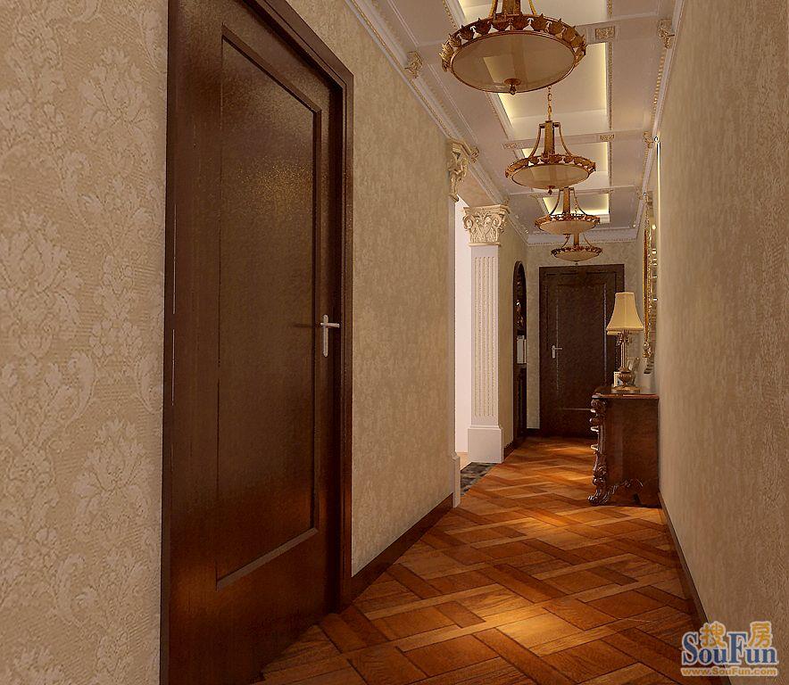 中海国际公寓玄关装修设计 搜房装修帮高清图片