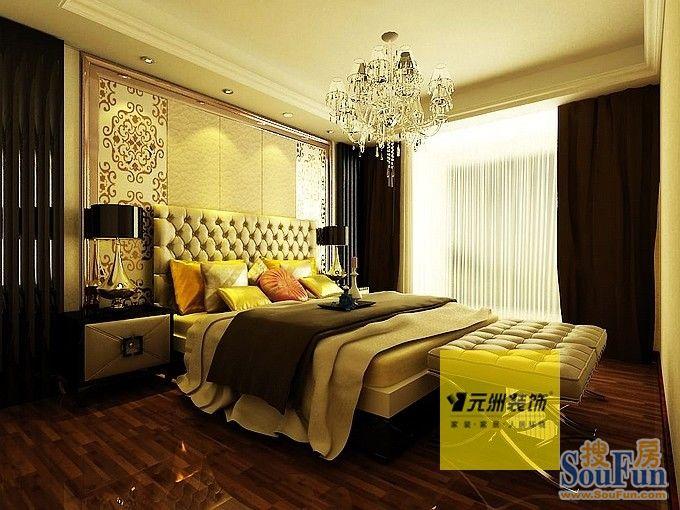 东湖湾-三居室-130㎡-客厅装修效果图   东湖湾-三居室-130高清图片