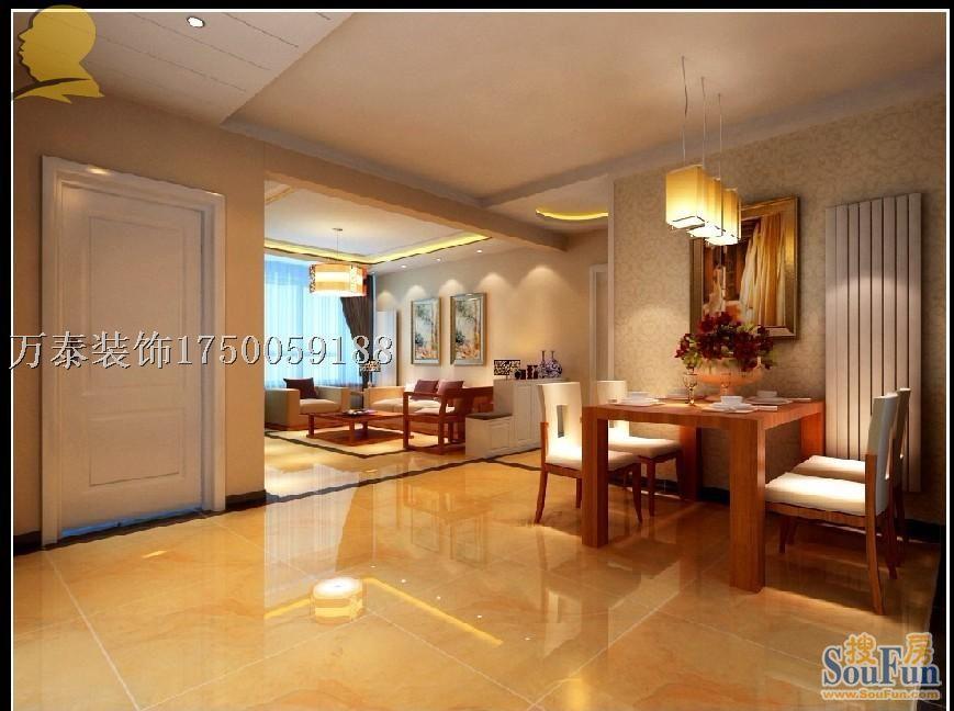 三居室 127.00㎡ 客厅装修效果图 济南绿品尚景设计案例 高清图片