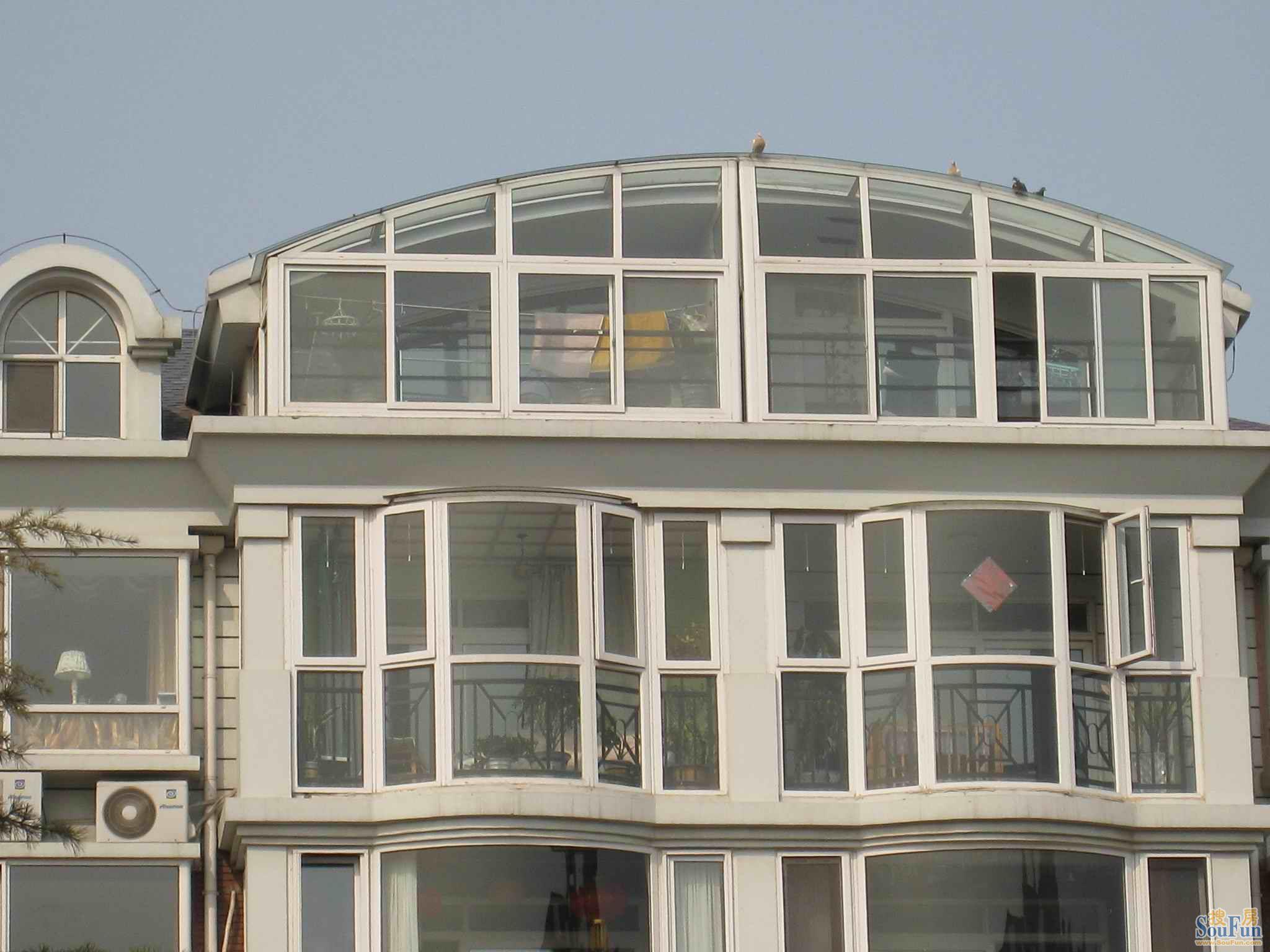凤铝799型中空玻璃铝合金门窗特价促销 高清图片
