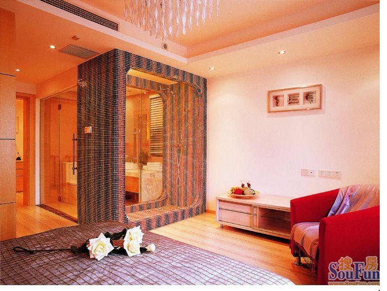 70平2室1厅 混合型风格风格装修案例 预算56800万元高清图片