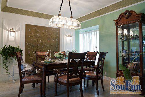 东南亚风格三居室装修效果图126平米4万东南亚风格三居室装修案例大图片