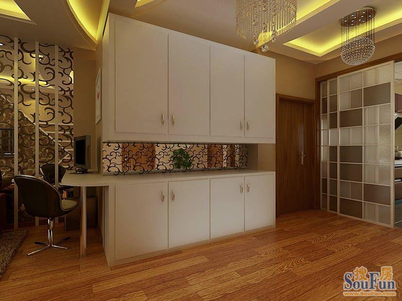 85平2室1厅 现代简约风格装修案例 预算5.8万元高清图片
