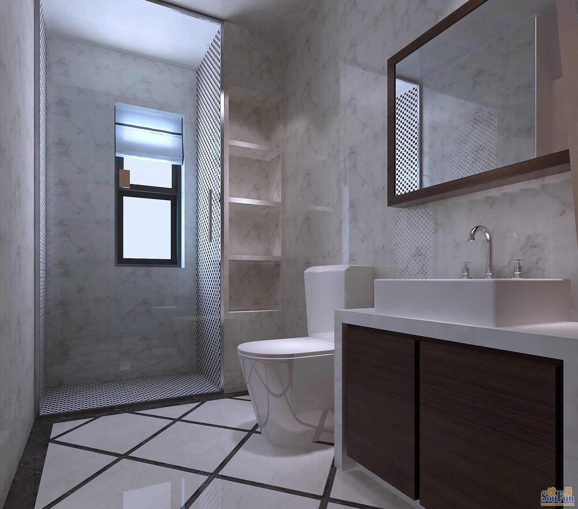 卫生间装修效果图卫生间装修效果图 (580 * 422) 48.可以考高清图片