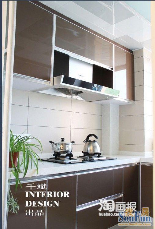98平2室2厅 现代简约风格装修案例 预算5.5万元高清图片