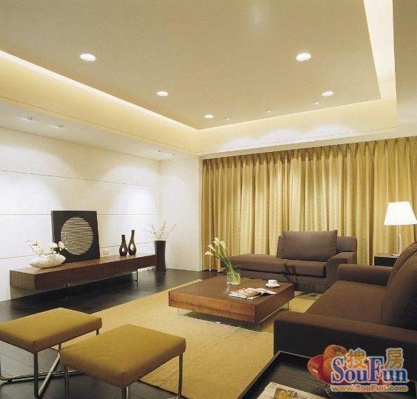 85平2室1厅 现代简约风格装修案例 预算6万元高清图片