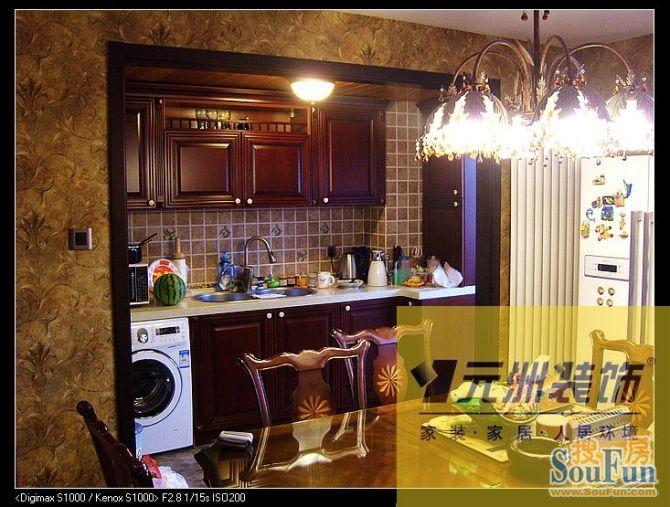 0㎡-客厅装修效果图-160平1室1厅 田园风格风格装修案例 预算8万元高清图片