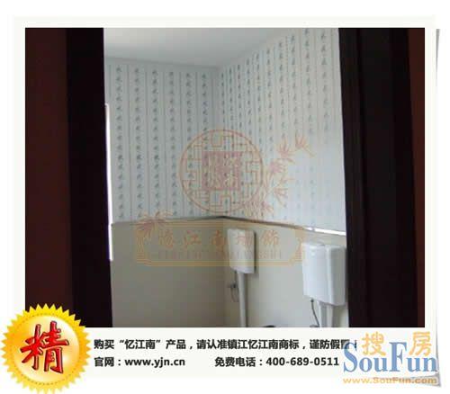 从我国目前家居墙面装饰材料看,墙面漆(乳胶漆)和壁纸仍为主高清图片