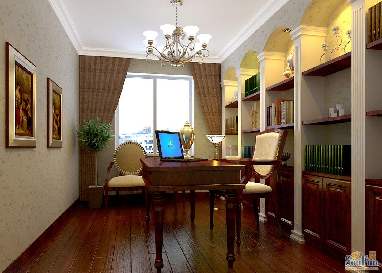 100平3室1厅 现代简约风格装修案例 预算10万元