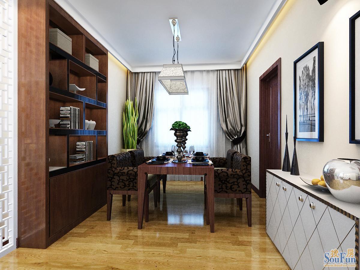 85平2室1厅 风格装修案例 预算6万元高清图片