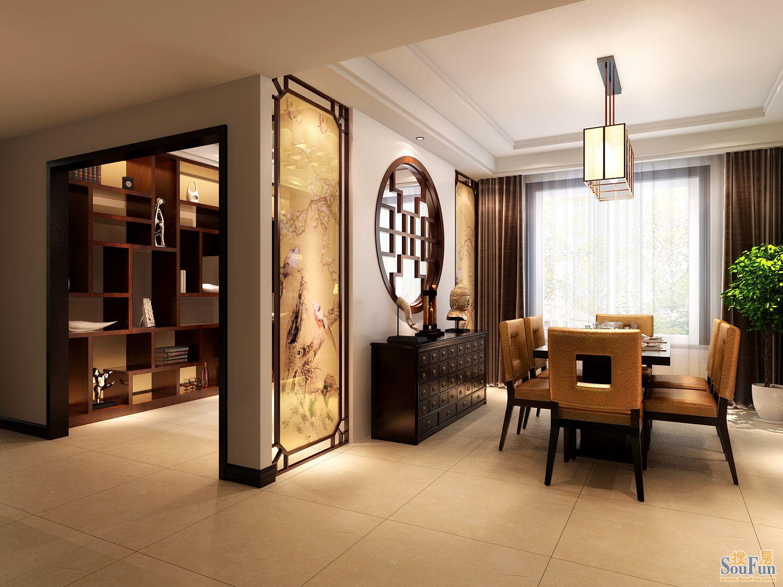135㎡-厨房装修效果图   东湖湾-三居室-135㎡-卧室装修效果高清图片