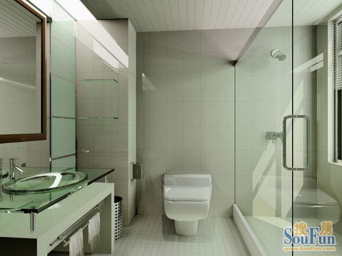 85平2室1厅 现代简约风格装修案例 预算9.2万元高清图片