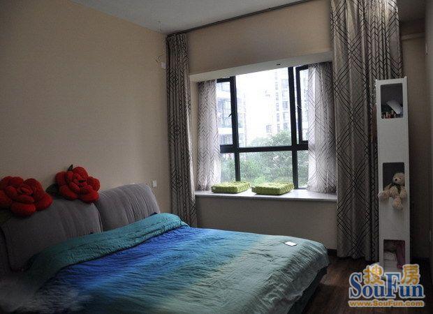 宁发阳光花园-二居室-185㎡-卧室装修效果图-185平2室2厅 现代简约风