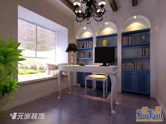 98平2室1厅 风格装修案例 预算10万元高清图片