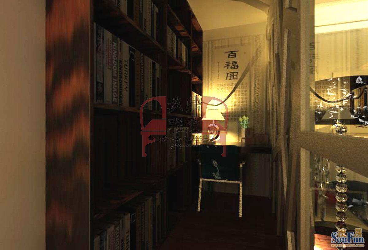 红城-二居室-100㎡-客厅装修效果图-100平2室1厅 现代简约风格装修案