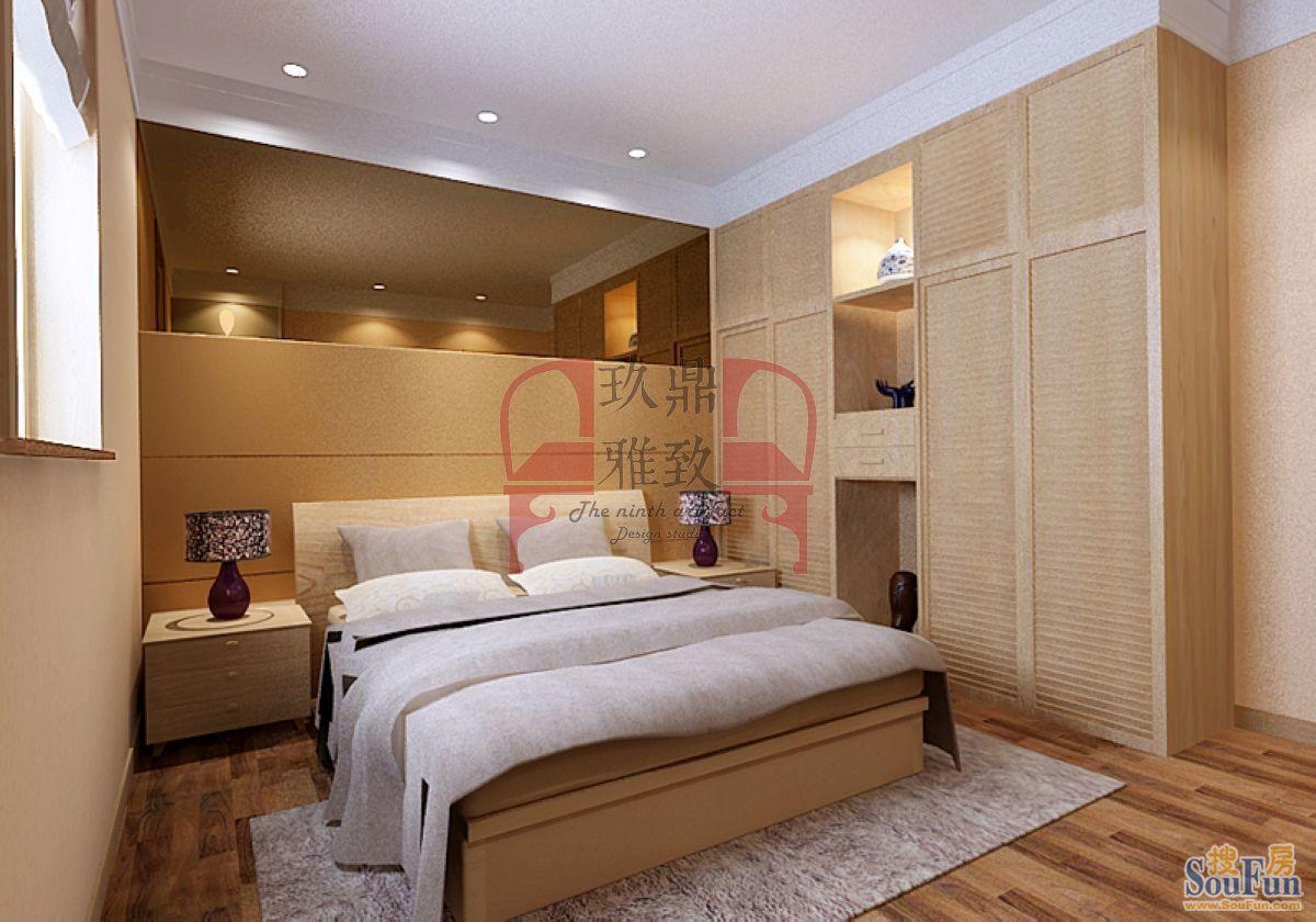 都会轩-二居室-90㎡-客厅装修效果图-90平2室2厅 现代简约风格装修案