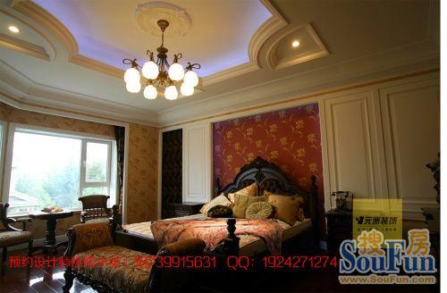 碧水庄园A区-别墅-1200㎡-客厅装修效果图-1200平7室3厅 现代简约风高清图片
