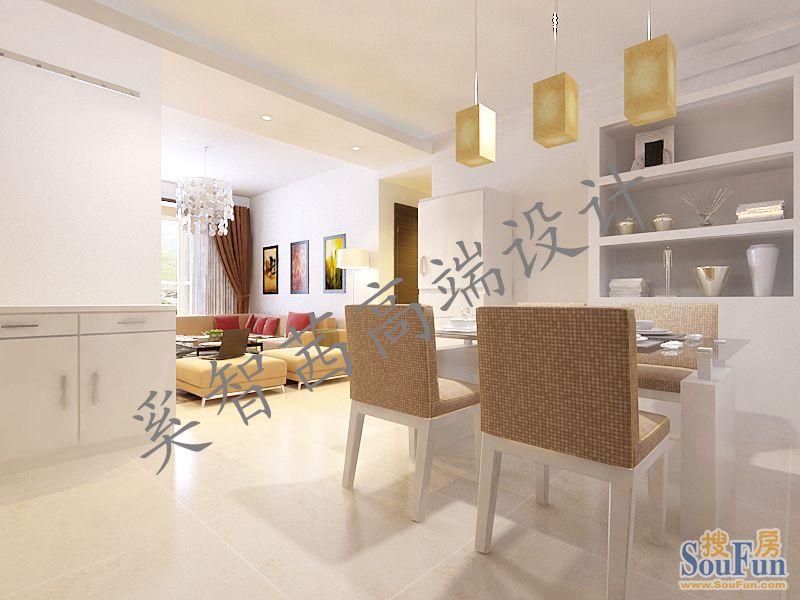 88平2室2厅 现代简约风格装修案例 预算3.3万元 高清图片
