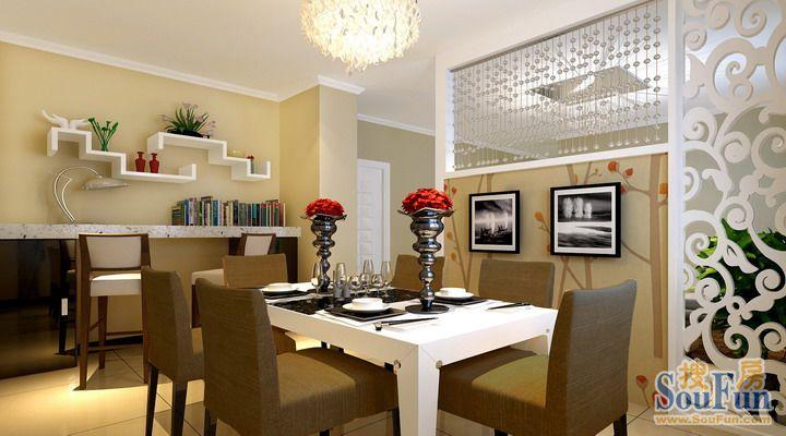 100平3室1厅 现代简约风格装修案例 预算5.41万元