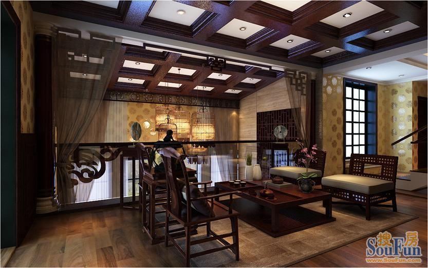 405平米别墅热门案例 东南亚22万!-绿地迪亚庄园装修