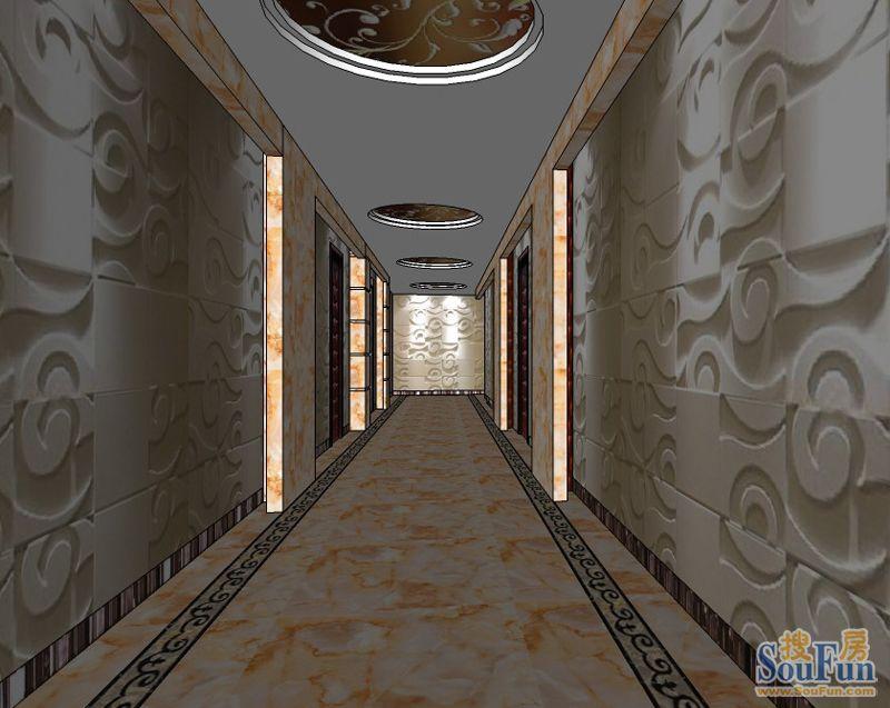 南城酒楼-其它-2480㎡-餐厅装修效果图图片