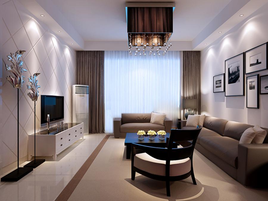 两居室装修 田园风格 客厅装修效果图图片