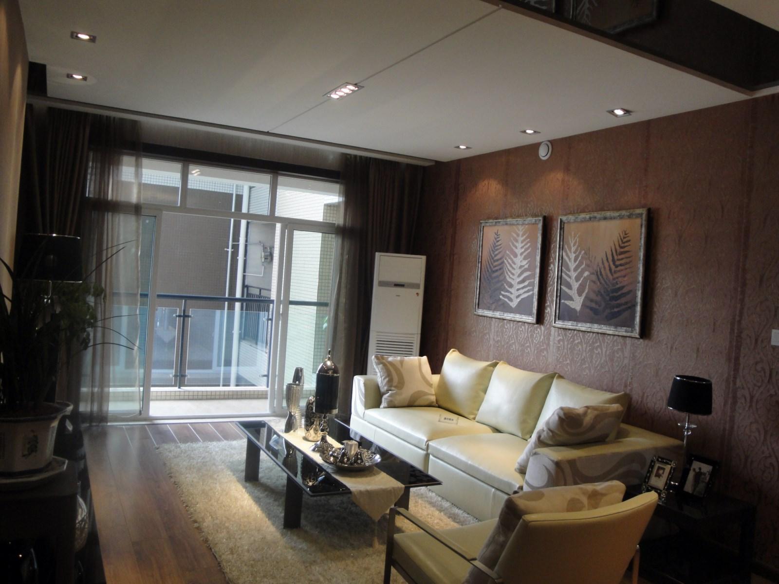 时代奥城酒店式公寓-现代简约-三居室-装修案例