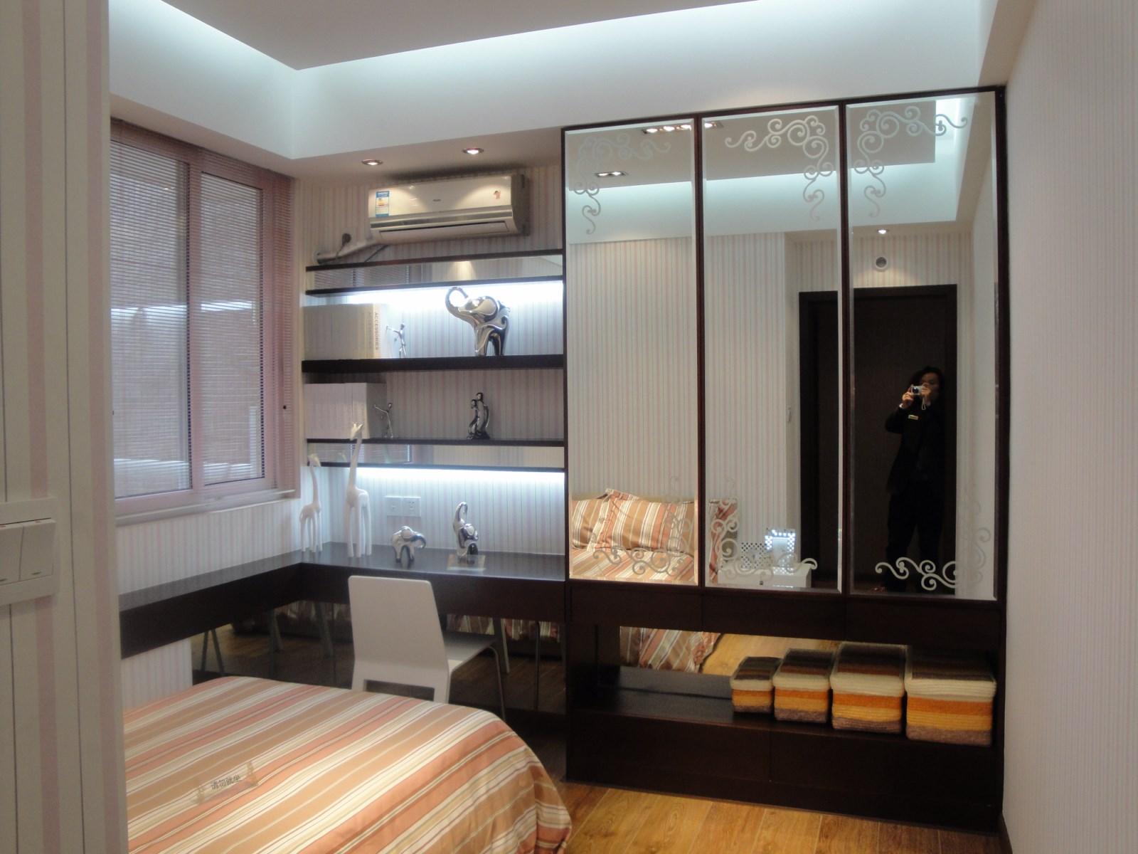 时代奥城酒店式公寓-三居室-145㎡-客厅装修效果图