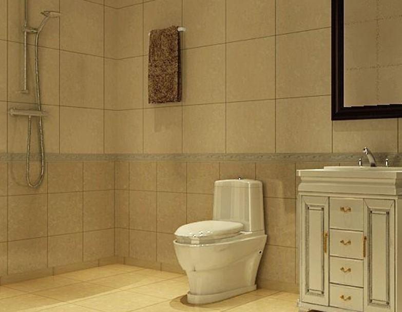 远洋一方-一居室-64㎡-卫生间装修效果图-64平1室2厅 现代简约风格装高清图片