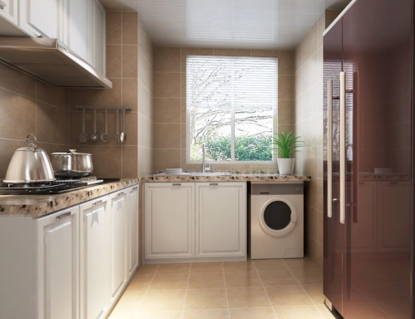 中信城-二居室-95㎡-卫生间装修效果图-95平2室2厅 现代简约风格装修高清图片
