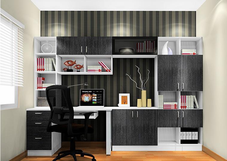 88平2室1厅 现代简约风格装修案例 预算2.5万元高清图片