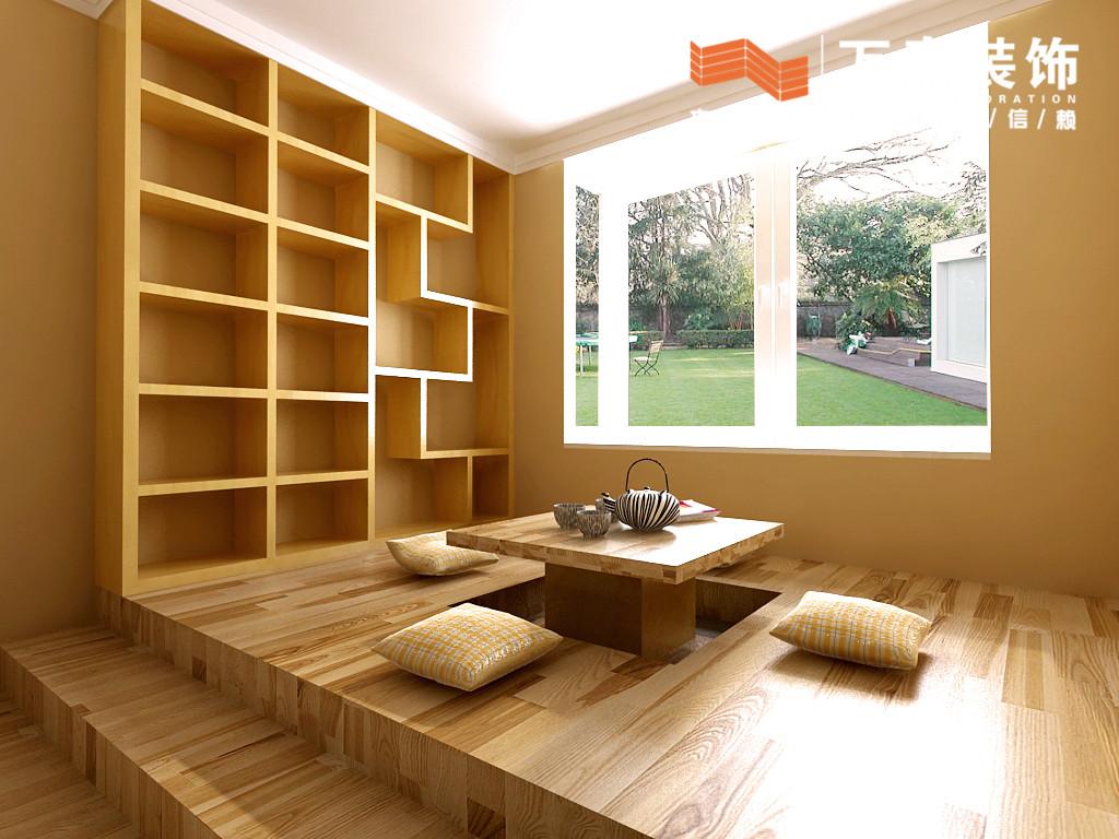 98平2室2厅 现代简约风格装修案例 预算3.2万元高清图片