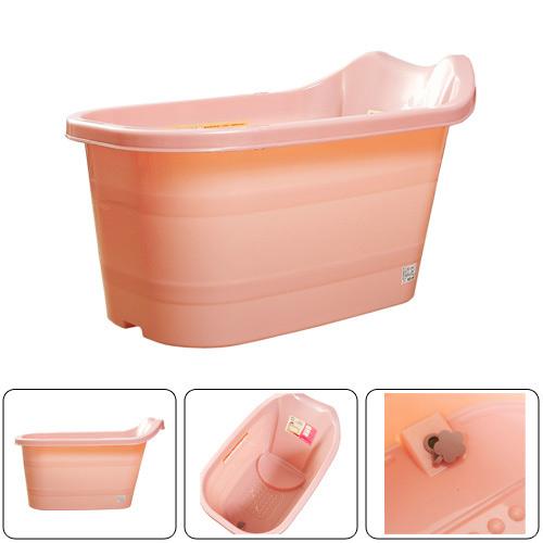 【包邮】进口keyway四季塑料泡澡桶/沐浴桶/儿童澡盆