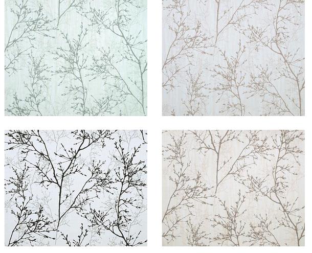 索弗仑壁纸 现代 新中式风格 客厅卧室 植绒无纺布墙纸图片