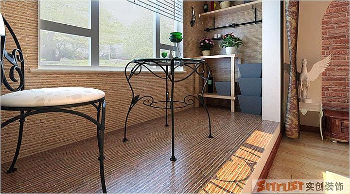 青岛凤凰城-欧美风情-三居室-装修案例