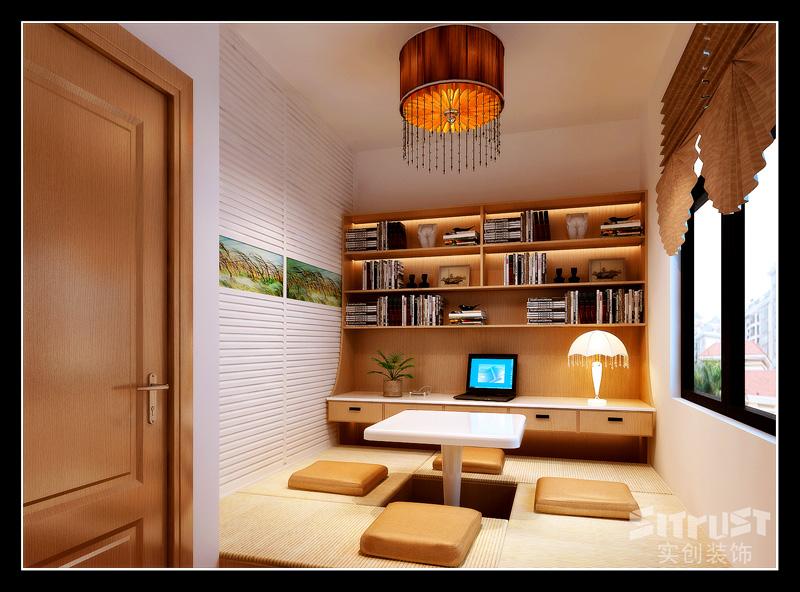 唐山实创装饰 唐山金色雅居 卧室