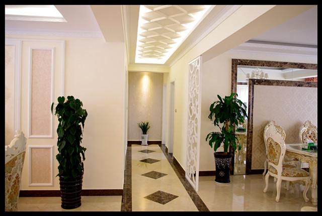 台湾村小区161平米奢华欧式风格——走廊实景毕业照