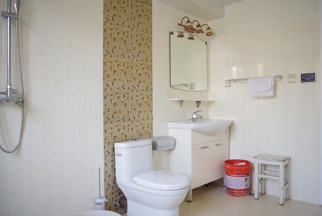 台湾村小区161平米奢华欧式风格——卫生间实景毕业照