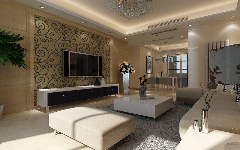 82平米一居室装修设计 空间合理利用无限扩容高清图片