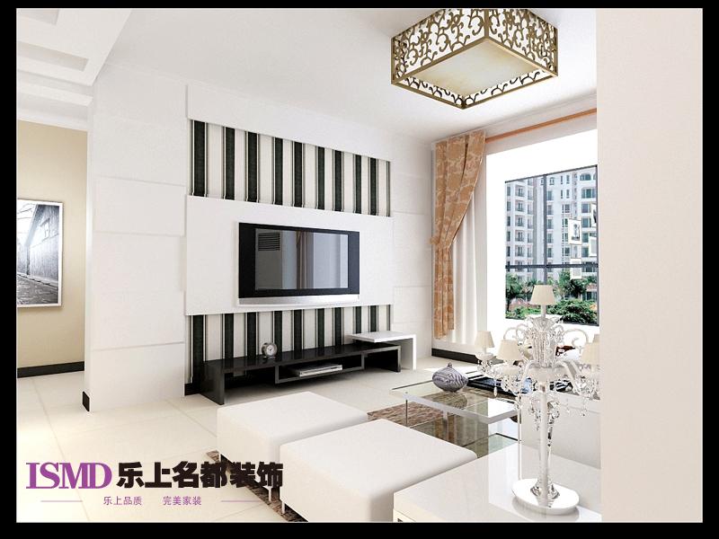 背景中电视玻璃墙v背景的第二种方案,石膏板和亚克力客厅的搭配,加盟劳卡衣柜类似图片