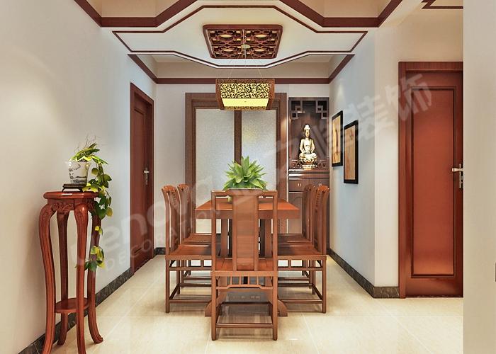 万达广场-三居室-147㎡-装修效果图   万达广场-三居室-147高清图片
