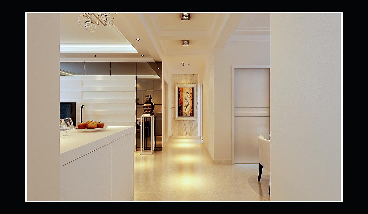 西式古典三居室装修效果图143平米5万西式古典三居室图片